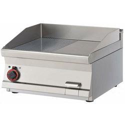 Płyta grillowa elektryczna ryflowana | 565x450mm | 6750W | 600x600x(H)280mm