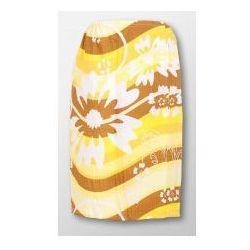 Pareo Ręcznik bawełniany damski biały - Wzór Kwiaty