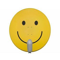 TECHNISAT SATMAN 850 Plus, konwerter UNYSAT Twin LNB, smiley