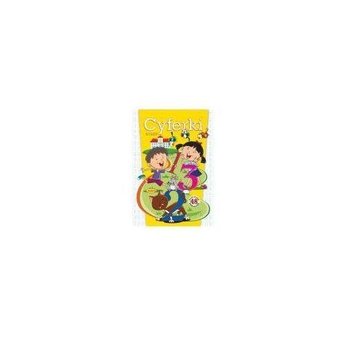 Książki dla dzieci, Cyferki. 48 naklejek