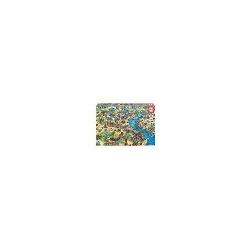 Puzzle, Puzzle 500 el. mapa londynu