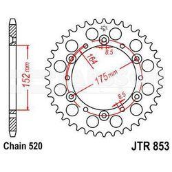 Zębatka tylna stalowa JT 853-40, 40Z, rozmiar 520 2301329 Yamaha YZ 250, YZ 125