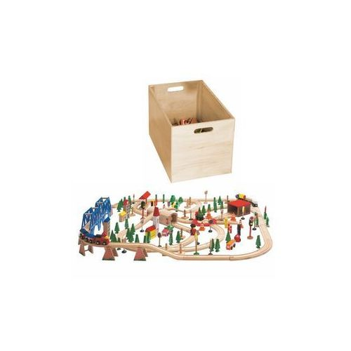 Kolejki i tory dla dzieci, WOODYLAND Kolejka, zest. w pudełku - BEZPŁATNY ODBIÓR: WROCŁAW!