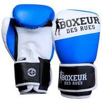 Rękawice do walki, Rękawice bokserskie BOXEUR BXT-591 Niebiesko-biały (10 oz)