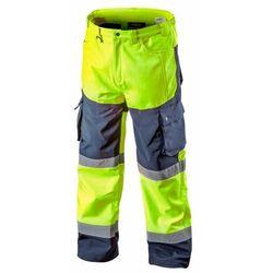 Spodnie robocze ocieplane SOFTSHELL żółte XXXL NEO