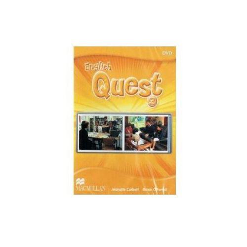 Książki do nauki języka, English Quest 3 DVD