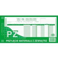 Druki akcydensowe, Przyjęcie materiałów z zewnątrz PZ Michalczyk&Prokop 362-2 - 1/3 A3 (wielokopia)