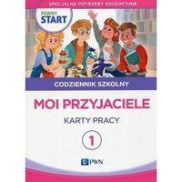 Książki dla dzieci, Pewny start Codziennik szkolny 1 Moi przyjaciele Karty pracy (opr. broszurowa)
