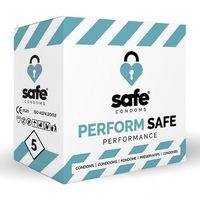 Prezerwatywy, Prezerwatywy opóźniające - Safe Performance Condoms 5 szt