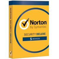 Oprogramowanie antywirusowe, Oprogramowanie NORTON SECURITY DELUXE 3.0 PL 1 USER 5 DEVICES 12MO CARD MM