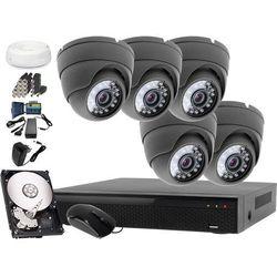 Zestaw do monitoringu: Rejestrator LV-XVR84S, 5 x Kamera LV-AL25HD+ dysk 1TB + akcesoria