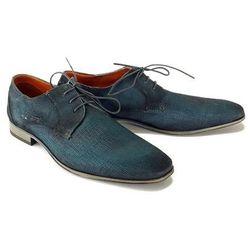BUGATTI 312-10101-1400 4100 dark blue, półbuty męskie