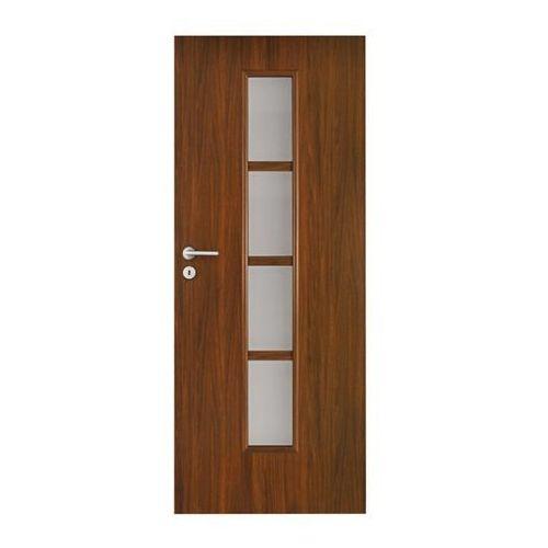 Drzwi wewnętrzne, Drzwi pokojowe Olga 90 prawe orzech