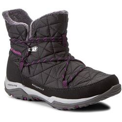 Śniegowce COLUMBIA - Loveland Shorty Omni-Heat BL1744 Black/Bright Plum 010
