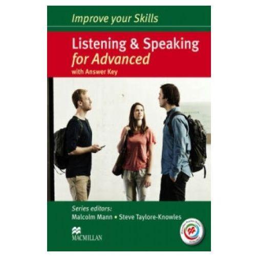 Książki medyczne, Improve Your Skills for Advanced. Listening and Speaking. Podręcznik z Kluczem + Kod Online (opr. miękka)