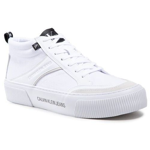 Męskie obuwie sportowe, Sneakersy CALVIN KLEIN JEANS - Vulcanized YM0YM00025 Bright White YAF