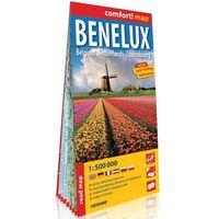 Przewodniki turystyczne, Benelux Belgia Holandia Luksemburg (Benelux. Belgium, Netherlands, Luxembourg); laminowana mapa - Praca zbiorowa