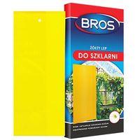 Środki i akcesoria przeciwko owadom, BROS - lep do szklarni żółty 10szt (BROS388)