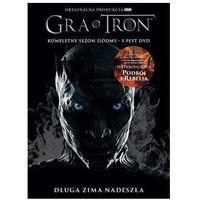 Seriale i programy TV, Gra o tron: Sezon 7 (DVD) - Jeremy Podeswa DARMOWA DOSTAWA KIOSK RUCHU