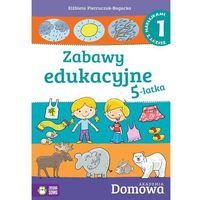 Książki dla dzieci, Domowa Akademia. Zabawy edukacyjne 5-latka cz.1 (opr. miękka)