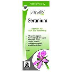OLEJEK ETERYCZNY GERANIUM (PELARGONIA) EKO 10 ml - PHYSALIS