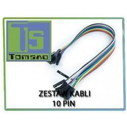 Zestaw kabli do zestawów uruchomieniowych 10x1pin