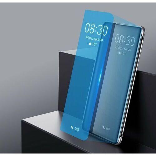 Etui i futerały do telefonów, Baseus Smart View Flip Cover pokrowiec etui z klapką typu Smart Huawei P30 khaki (LTHWP30-YP11)