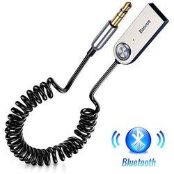 Baseus BA01 / Adapter transmiter Audio AUX odbiornik dźwięku Bluetooth 5.0 do samochodu