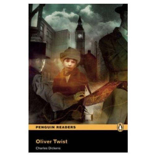 Książki do nauki języka, Oliver Twist Plus MP3 CD (opr. miękka)
