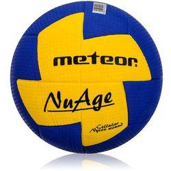 Piłka ręczna Meteor NuAge damska 2 niebiesko-żółta