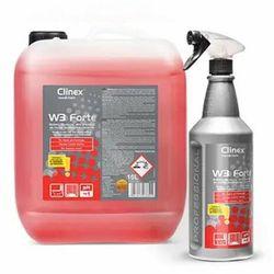W3 Forte Clinex 1L - Gotowy do użycia, silny preparat do mycia sanitariatów i łazienek