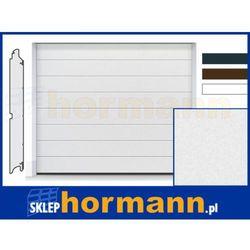 Brama RenoMatic 2018, 2500 x 2125, Przetłoczenia M, Sandgrain, kolor do wyboru: biały, brązowy, antracytowy