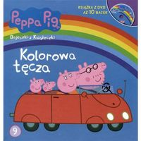 Książki dla dzieci, Kolorowa tęcza Peppa Pig (opr. twarda)