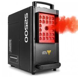 S2500 Wytwornica mgły 2500 W 24 diod LED 4w1 10 W DMX zbiornik 3,5 l