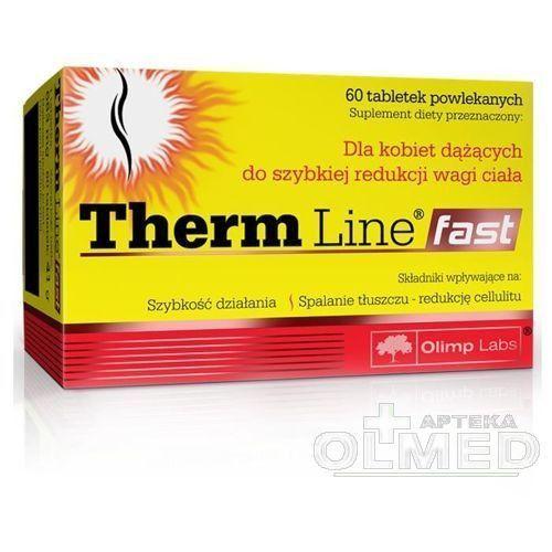 Redukcja tkanki tłuszczowej, Spalacz tłuszczu Therm Line Fast 60tabl Olimp