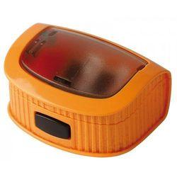 Temperówka DONAU, plastikowa, podwójna, z pojemnikiem, mix kolorów
