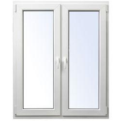 Okno PCV rozwierne + rozwierno-uchylne 1165 x 1435 mm symetryczne