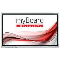 "Monitor interaktywny myBoard Grey D-LED 65"" 4K UHD z Androidem + OPS Plus i3-6100"