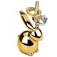 Artykuły do ekspozycji w sklepie, Umbra - Stojak na biżuterię Zoola Bunny Złoty