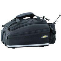 Sakwy, torby i plecaki rowerowe, Topeak Trunk Bag EX Strap Type Torba na bagażnik, black 2021 Torby na bagażnik