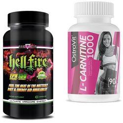 Spalacz tłuszczu INNOVATION LABS Hellfire EPH 150 100kaps Ostrovit l-carnitine gratis