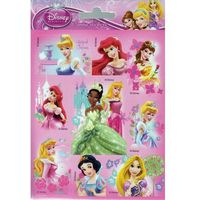 Naklejki, NAKLEJKI OBUSTRONNE Księżniczki Disney Princess