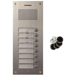 Stacja bramowa ośmioabonentowa z czytnikiem RFID Commax DR-8UM/RFID