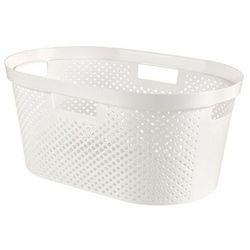 CURVER Kosz na pranie do magla InFINITY 40 l recycled biały - DARMOWA DOSTAWA OD 95 ZŁ!