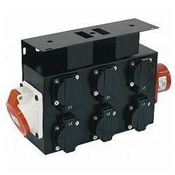 EUROLITE SB-652X Power Distributor Przelotowa rozdzielnica napięcia CEE
