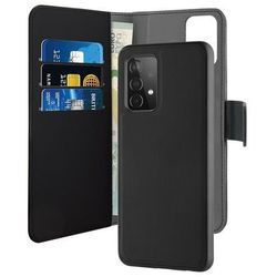 PURO Wallet Detachable Etui 2w1 na Samsung Galaxy A52 5G (czarny)