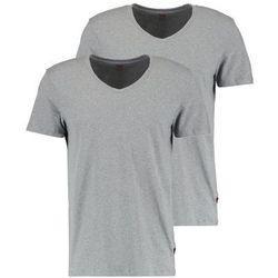 Levi's® VNECK COMFORT FIT 2 PACK Podkoszulki middle grey