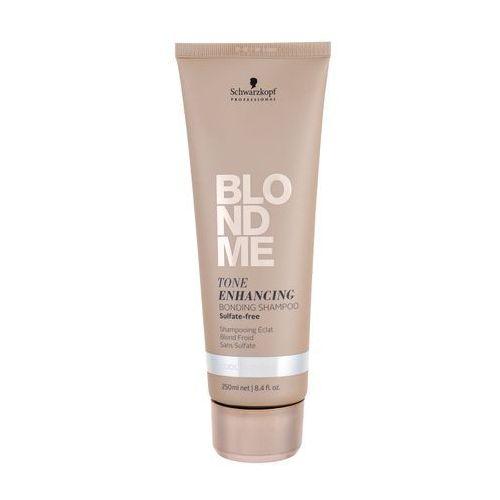 Mycie włosów, Schwarzkopf Professional Blondme szampon bez sulfatów do zimnych odcieni blond (Tone Enhancing Bonding Shampoo) 250 ml