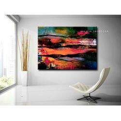 Kolorowa awangarda obrazy do salonu nowoczesnego rabat 10%