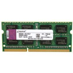 Pamięć RAM 1x 4GB KINGSTON SODIMM DDR3 1333MHz PC3-10600S | KTL-TP3B/4G